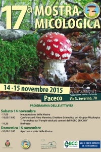 17^ MOSTRA MICOLOGICA A PACECO