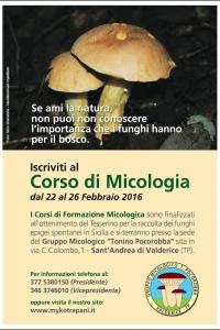 CORSO MICOLOGIA 1 - 2016