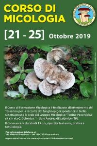 Corso Micologico   Ott. 2019