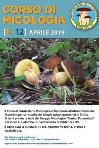 Corso Micologico Aprile 2019